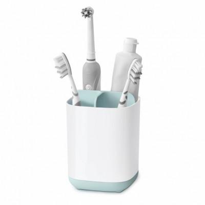 Zahnbürsten-Organiser Caddy | Blau & Weiß