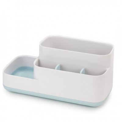 Bathroom Organiser Caddy | Blue & White