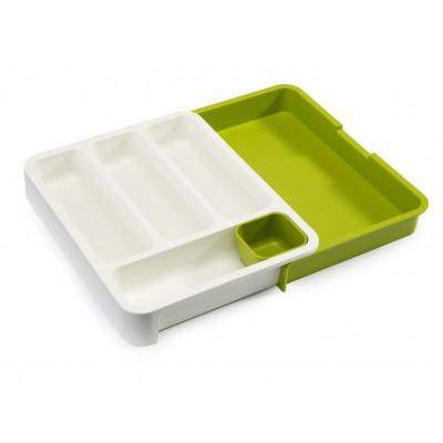 Küchenschublade Organiser DrawerStore   Weiß & Grün
