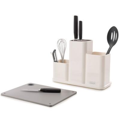 Kitchen Counter Organiser | White