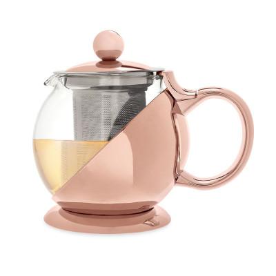 Shelby Rose Gold eingewickelte Teekanne & Infusor