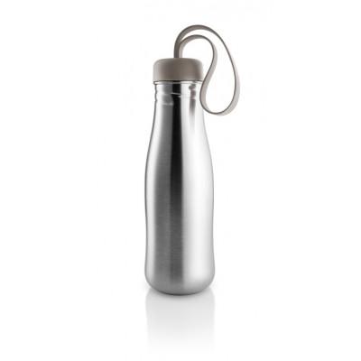 Active Trinkflasche | Warmes Grau