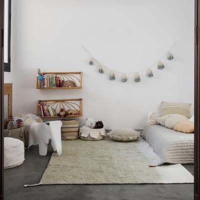 Waschbarer Wendeteppich Gelato | Grün - 120 x 160 cm