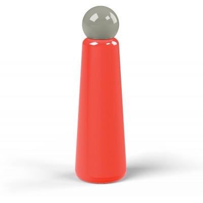 Wiederverwendbare Trinkflasche Skittle | 75 cl | Rot & Deckel Grau