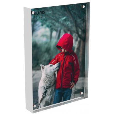 Fotorahmen Skittle 15,2 x 10,2 x 2 cm | Weiß