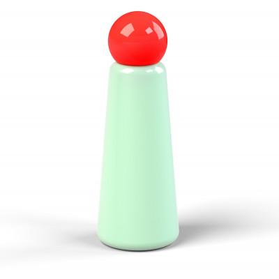 Wiederverwendbare Trinkflasche Skittle | 50 cl | Hellblau & Deckel Rot