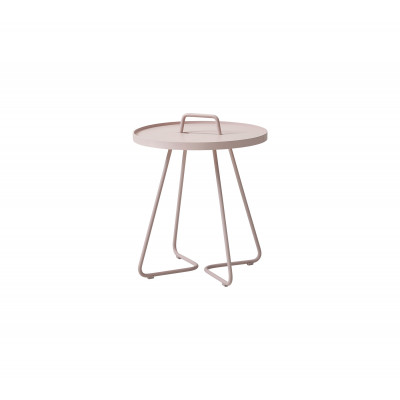 On-The-Move Side Table Small | Alu Dusty Rose