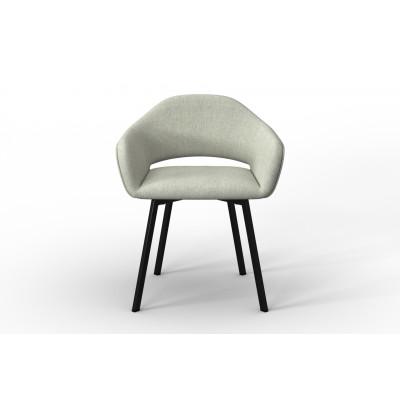 Stuhl Oldenburg | Creme-Leinen Touch