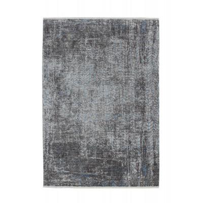 Teppich Antigua 300 | Grau - Türkis