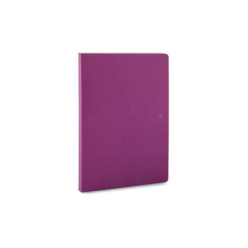 Notizbuch A5 | 88 Blätter | Violett