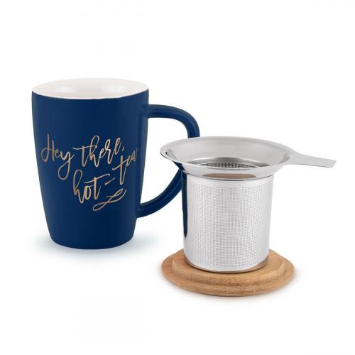 Bailey Hey There, Teebecher und Aufguss aus heißem Tee aus Keramik