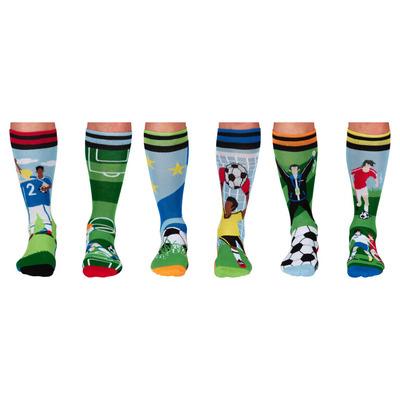 Herren Geschenkbox 6er Pack Socken Free Kick   39-46