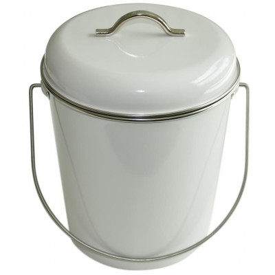 House Keeping Bucket | White