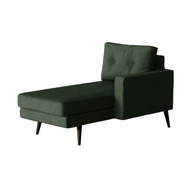 Liegestuhl rechts Biber   Grün