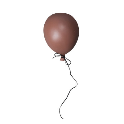 Deko Ballon S | Braun
