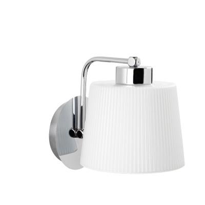 Wandlampe Kemer N-272 | Silber & Weiß