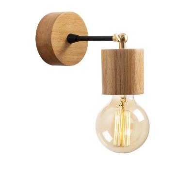 Wandlampe Xanthos N-865 | Helles Holz