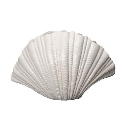 Vase Shell | White