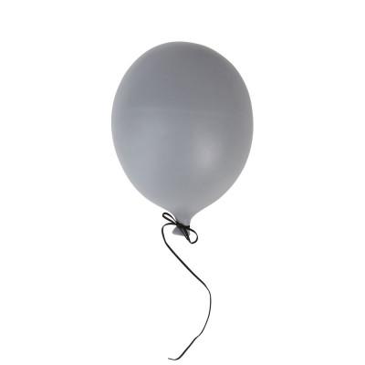 Deko Ballon L | Grau