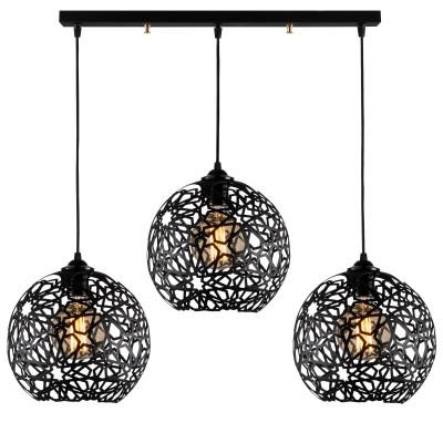 Hanging Lamp Fellini MR-786 | Black