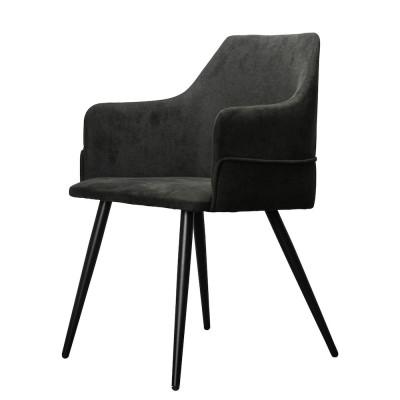 Lounge Chair Carla | Black