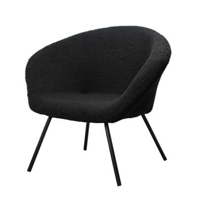 Lounge Chair Theodore  | Black