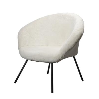 Lounge Chair Theodore | White