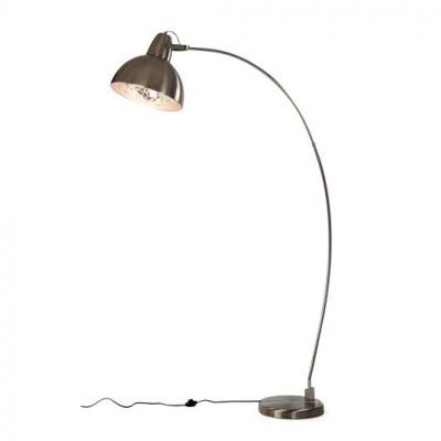 Chicago Floor Lamp | Nickel