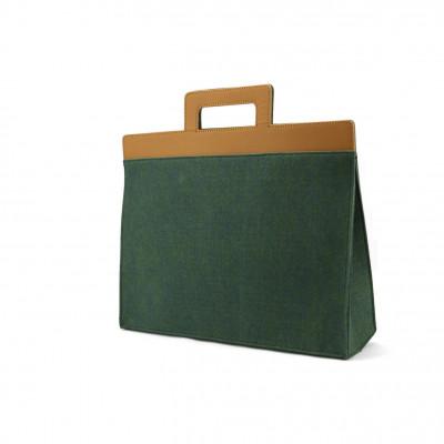 Henry Portfolio Briefcase   Green