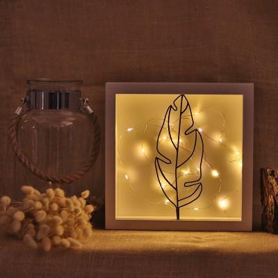 Dekoratives Objekt LED | Feder