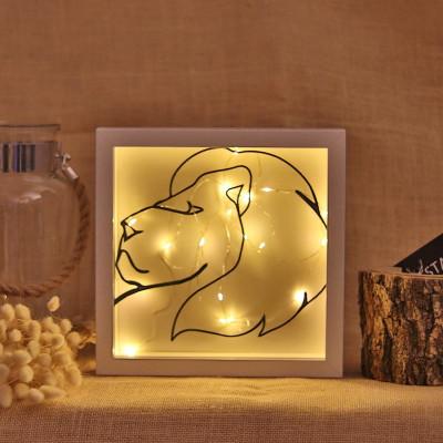 Dekoratives Objekt LED |  Löwe