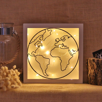 Dekoratives Objekt LED | Welt