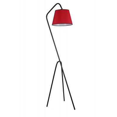 Stehleuchte 8302-1 | Schwarz & Rot