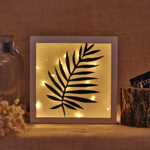 Dekoratives Objekt LED | Palme Blatt
