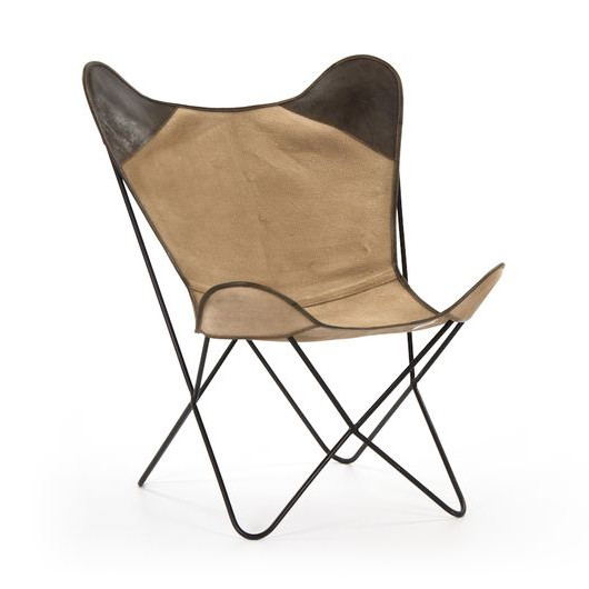 Kenia Arm Chair   Khaki