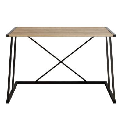Schreibtisch Anemon | Nussbaum Schwarz