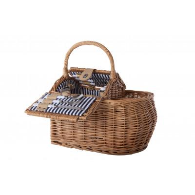 Picnic Basket 2P   Sil