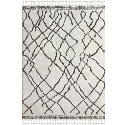 Carpet 1458A I White-Light Brown 120x180 cm
