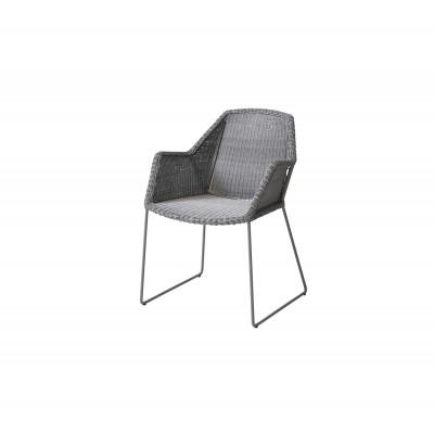 Outdoor Armchairs Breeze   Light Grey