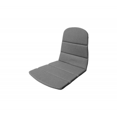 Outdoor Stuhl Sitz / Rücken Kissen Breeze   Grau