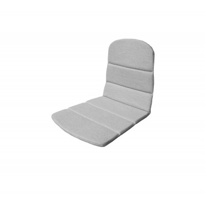 Outdoor Stuhl Sitz / Rücken Kissen Breeze   Hellgrau