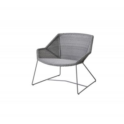 Outdoor Lounge Chair Breeze   Light Grey