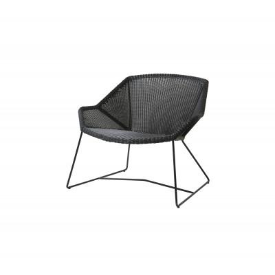 Outdoor Lounge Chair Breeze   Black