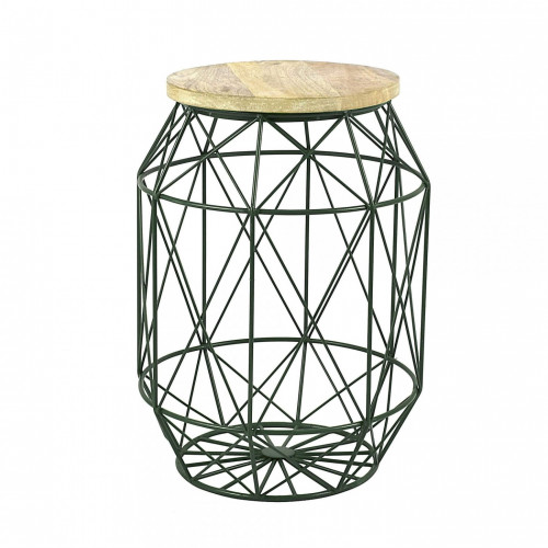Side Table Dome | Green Forest