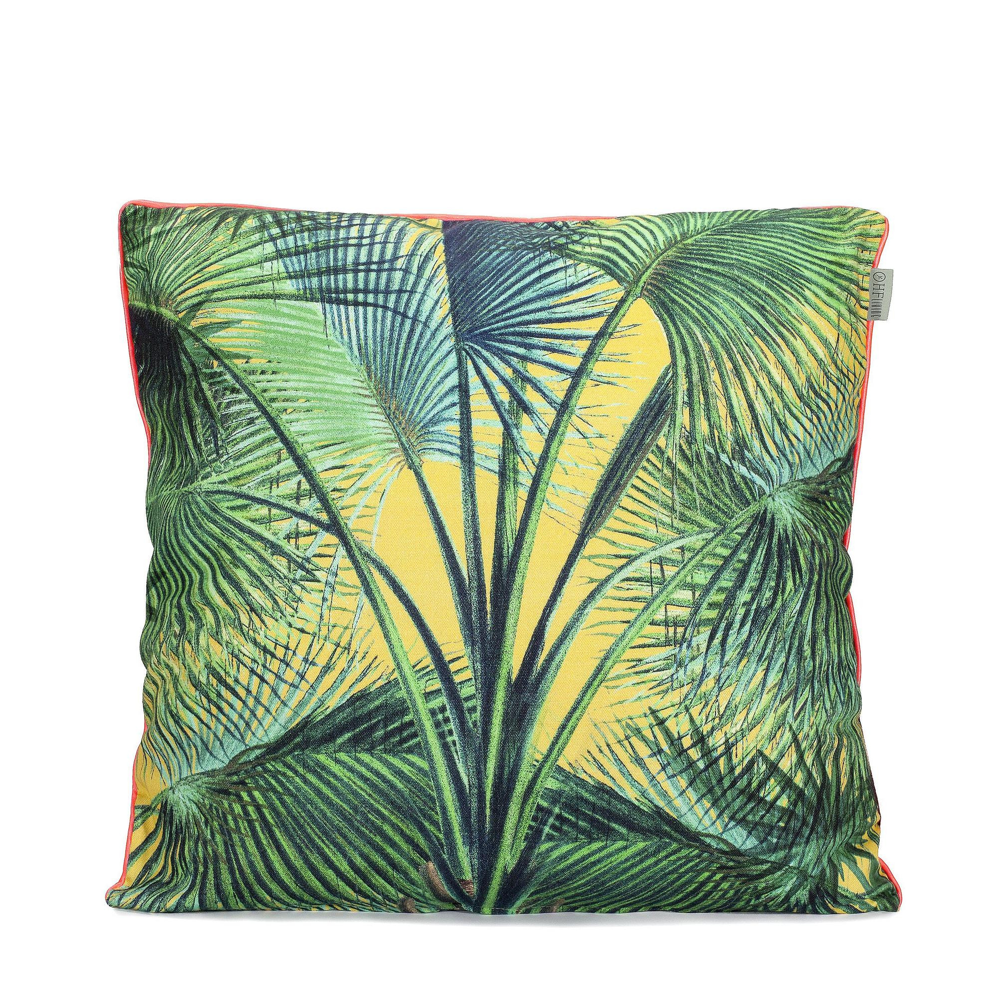 Cushion Cover Palm Leaves  | 100% Cotton