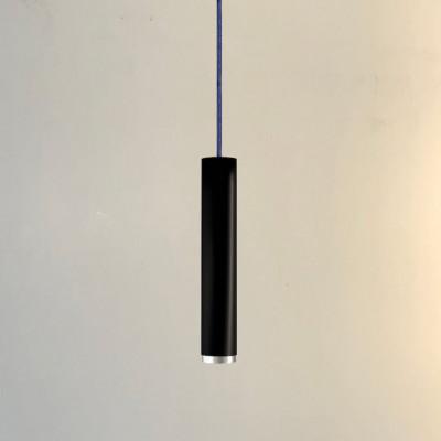 Pendelleuchte Fifty-Five 30 cm | Schwarz/Aluminium/Jeans