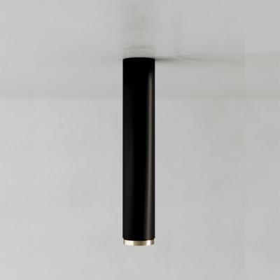 Deckenlampe Fifty-Five 30 cm | Schwarz/Messing