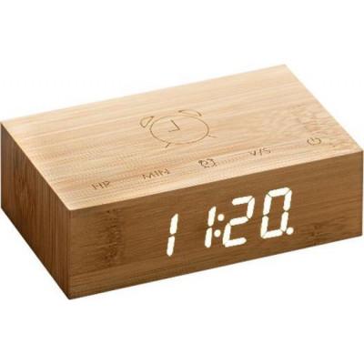 Kipp-Klick-Uhr   Bambus