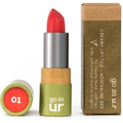 Cremiger Lippenstift   Adrenaline Red