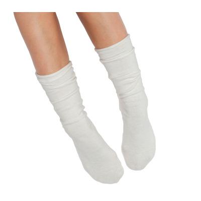 Socken Eine Größe | Creme